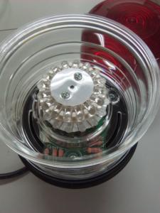 ledを円状に配列した回転灯