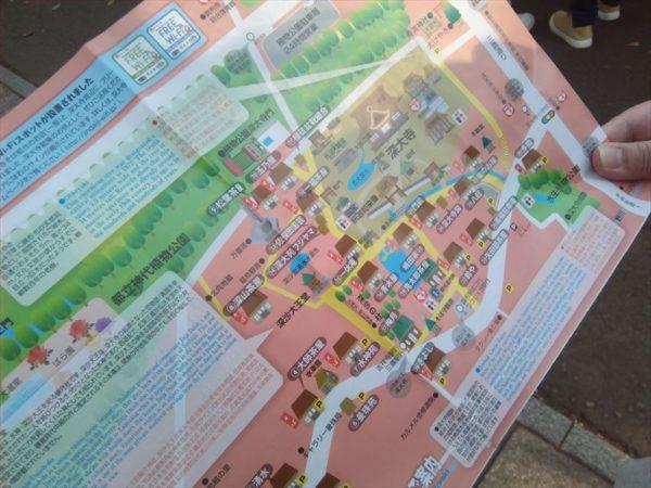 深大寺周辺マップ